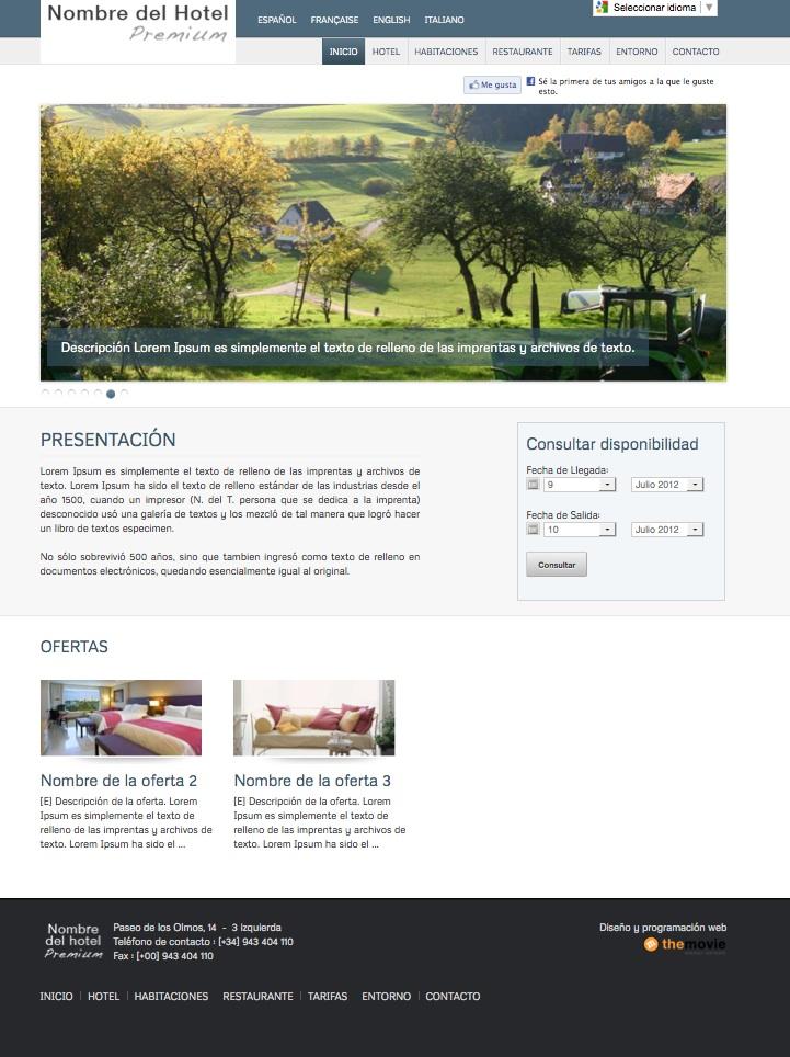 Dise o de p ginas web para hoteles y casas rurales con - Paginas de casas rurales ...