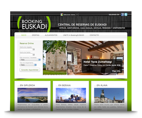 booking euskadi central de reservas de destinos turisticos